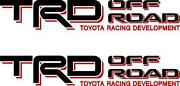 Toyota Tacoma TRD Decals