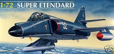 Heller Dassault Súper Etendard Am-39 France Marino Flotilla de 1:72