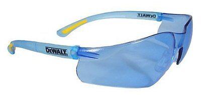 Dewalt Dpg52-bc Contractor Pro Light Blue Lightweight Protective Safety Glasses