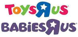WANTED: looking to buy toys r us / baby r us gift cards