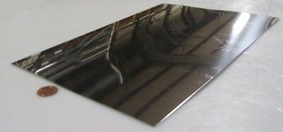 316 Stainless Steel Sheet Annealed .025 Thick X 8.0 Width X 12.0 Length
