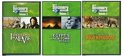 Best Of Discovery Channel Volume 3  Dvd  3 Disc Set