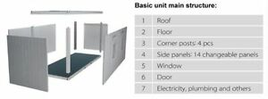 Mobile Office Units ~ flatpacked 8x20 steel-framed buildings Regina Regina Area image 7