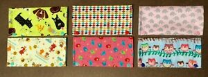 Vaccination book cover, Diaper Clutch, Teething bibs/accessories Cambridge Kitchener Area image 4