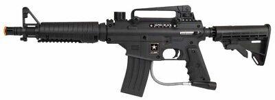 New Tippmann US Army Alpha Black Elite Tactical Paintball Gun Marker