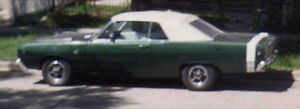 Dart Barracuda 1967, 1968, 1969, convertible parts