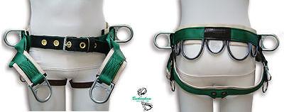 Buckingham Tree Climber Saddle 4 D Rings Lightweight Economical Design
