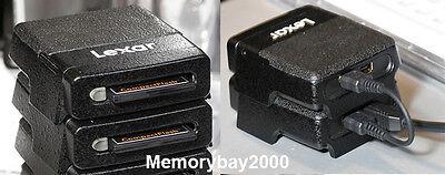 Lexar Professional FireWire 400 CompactFlash CF Card Reader IEEE 1394a 2 PACK