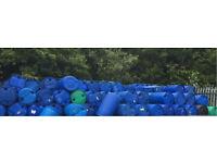 Plastic barrels for sale bargain price