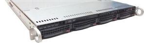 1U Supermicro X7DVL-I Server 2 x Intel Xeon E5420 24GB RAM