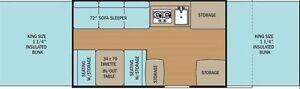 2014 Coachmen 2405S7 Tent Trailer Belleville Belleville Area image 4