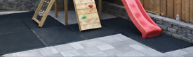 Many different new Rubber safety mats for factories & Climbing frame