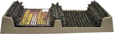GRASSWORX Clean Machine 10371867 Shoe and Boot Scraper Polyethylene Bristle