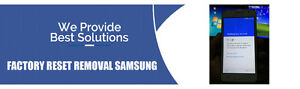Factory Reset Protection Lock Removal Services SAMSUNG