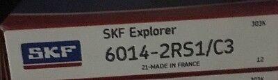 6014-2rs C3 Skf Bearing 70x110x20 Mm