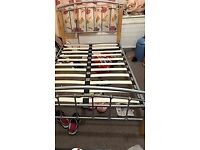 Small double bed frame - no mattress (4ft/120 cm)