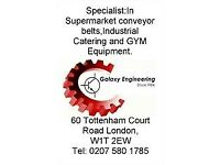 Specialist in Super market Conveyor belts Industrial Catering/Gym Equipments repair and maintenance