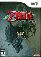 NINTENDO WII, NEW SEALED ZELDA TWILIGHT PRINCESS