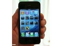 Iphone 4s unlocked black and white color good condition