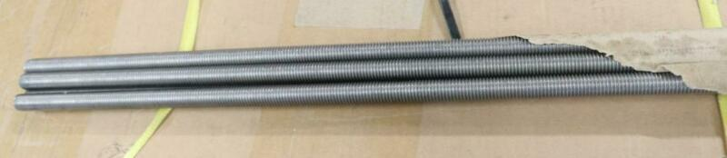 """Pack of 1 M16-2.0 x 72"""" Stainless Steel Threaded Rod All-Thread"""
