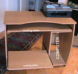 Computer,  Fax  table  Two rolling self. West Island Greater Montréal image 5