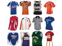 Wholesaler, Supplier of Sports Garments & Knit Wears, Boxing, Football, Hotel uniforms.