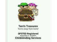 Terri's Treasures Childminding Services