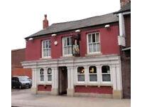 Albert Edward, Eccles - pub management couple