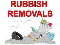 WASTE / RUBBISH REMOVALS, TIP RUNS, MAN & VAN SERVICES, PROPERTY MAINTENANCE, ETC, CHEAPER THAN SKIP