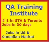 QA Job oriented training, 100% success, resume preparation.