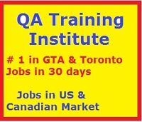 QA Training 100% JOBS GUARANTEE, placed over 50 last year