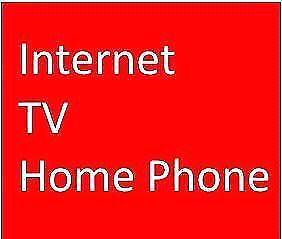 INTERNET DEAL $40 (No Contract !!)  TV HOMEPHONE (Bundle Offer)