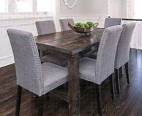 Custom Made Reclaimed Wood Dining Tables and Small Furniture