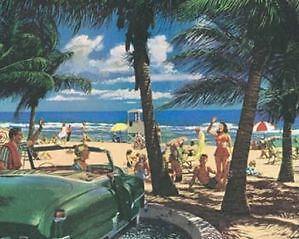 Vintage Beach Posters