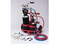 oxy acetylene cutter welding must have bottles ect cash waiting will collect portapack