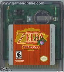The Legend of Zelda Oracle of Seasons (GBC)