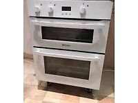 Hotpoint Electric Built-under double oven Model UH53WS
