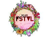 We Are Fstvl Weekend Ticket