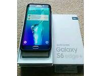 Samsung galaxy s6 edge plus 32gb unlock to all networks excellent use condition boxed