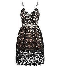 Black, Azaelea Self Portrait Style Dress, Size 10, New with tags & packaging