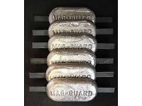 widebeam boat anodes x6 magnesium fresh water 2.5kg each