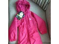 New Trespass Childs one piece full zipped outdoor Suit. Label Size 2 / 3