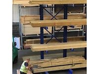 Timber CLS stud work 4 x2