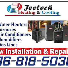 Heating and cooling services