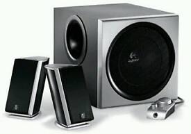 logitech speakers 2.1 sale or swap.