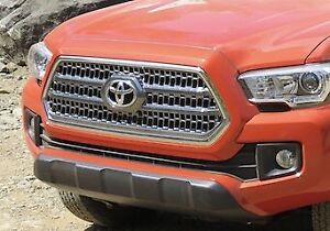 2017 Tacoma Grill and Stock Exhaust