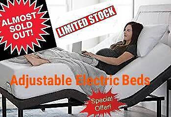ON CLEARENCE NOW & ALMOST SOLD OUT! ELECTRIC BEDS LIMITED STOCK!