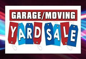 Garage/moving out sale