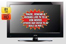 """Great Value - Soniq 32"""" High Definition LCD TV + Free DVD player Penshurst Hurstville Area Preview"""