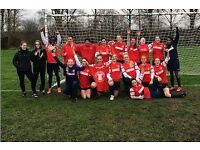 WOMENS FOOTBALL TEAM AFC STOKE NEWINGTON LOOKING FOR EXPERIENCED PLAYERS FOR NEXT SEASON